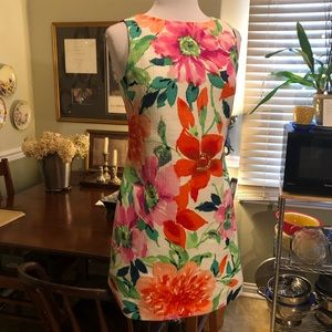 Dresses & Skirts - Jessica Howard textured sleeveless floral dress 8P